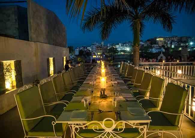 best restaurants in udaipur for dinner